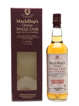 Highland Park 1991 Mackillop's Choice
