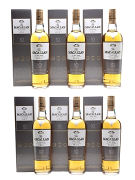 Macallan 10 Year Old Case of Six