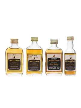Mortlach Bottled 1970s & 1980s 4 x 5cl