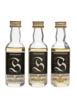 Springbank 12 Year Old & 15 Year Old