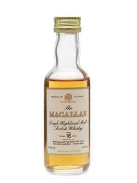 Macallan 16 Year Old