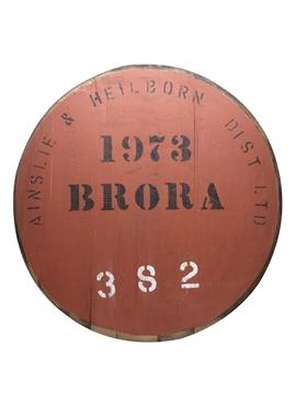 Brora 1973 Cask End