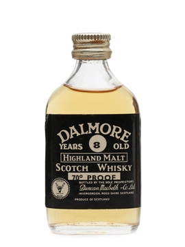 Dalmore 8 Year Old 70 Proof