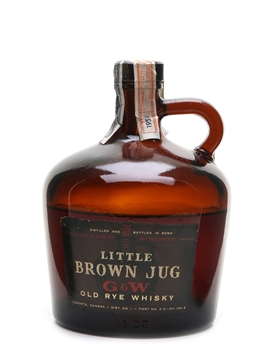 Gooderham & Worts Little Brown Jug 1955