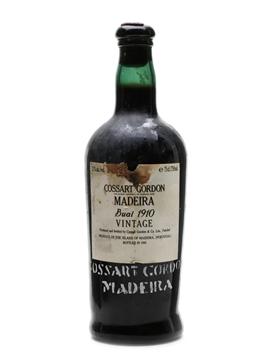 Cossart Gordon 1910 Boal Madeira