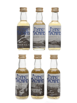 Whisky Connoisseur Flying Machines 8 Year Old Vatted Campbletown Malt 6 x 5cl