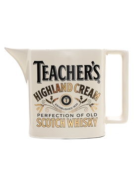 Teacher's Highland Cream Water Jug
