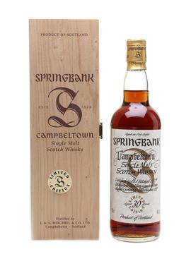 Springbank 30 Year Old