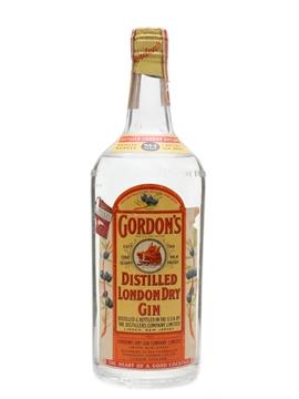 Gordon's Dry Gin Spring Cap Bottled 1940s 95cl / 47.2%