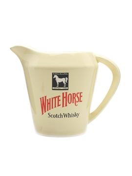 White Horse Ceramic Water Jug