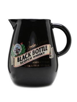 Black Bottle Ceramic Water Jug