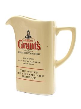 William Grant's Ceramic Water Jug