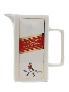 Johnnie Walker Red Label Ceramic Water Jug