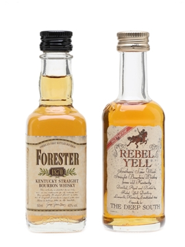 Forester & Rebel Yell Kentucky Bourbon 2 x 5cl