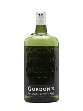 Gordon's Gin Spring Cap Bottled 1950 75cl