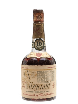 Very Old Fitzgerald 10 Year Old 1958