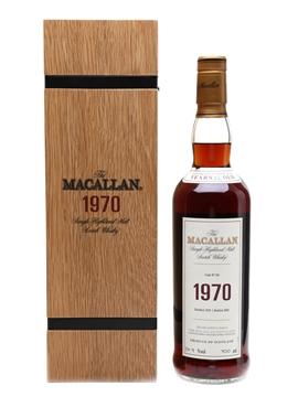 Macallan 1970 Fine & Rare