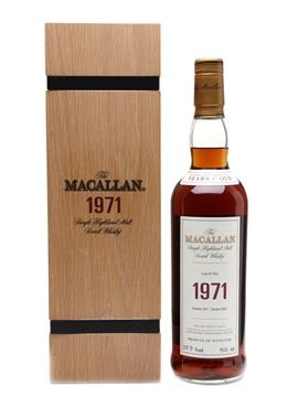 Macallan 1971 Fine & Rare