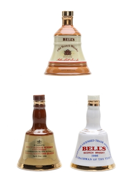 Bell's Ceramic Decanters