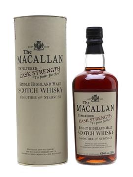 Macallan 1990 Cask Strength