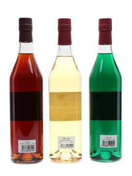 Briottet Liqueurs Chestnut, Elderflower and Green Mint 3 x 70cl