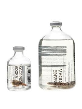 Edible Scorpion & Snake Vodka