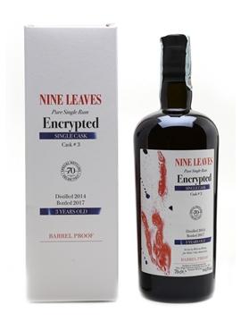 Nine Leaves Encrypted 2014 Japanese Rum Bottled 2017 - Velier 70th Anniversary 70cl / 64.8%