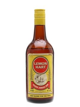 Lemon Hart Golden Jamaica Rum Bottled 1970s 75cl / 40%