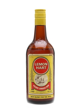 Lemon Hart Golden Jamaica Rum Bottled 1970s 75cl / 40%