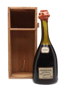 L Boissignac Armagnac 1920