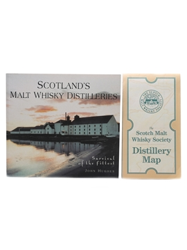 Scotland's Malt Whisky Distilleries & SMWS Distillery Map