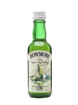 Bowmore Bottled 1960s - Sherriff's 5cl / 40%
