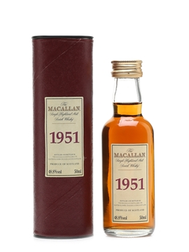 Macallan 1951 Fine & Rare