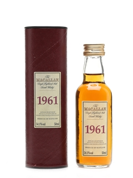 Macallan 1961 Fine & Rare