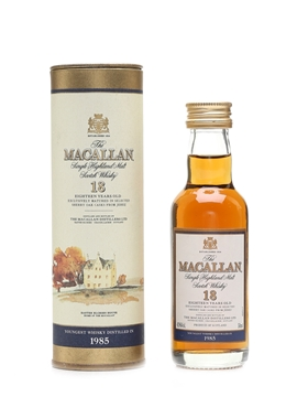 Macallan 1985 And Earlier