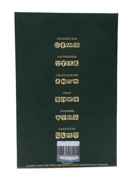 Classic Malts Distillers Edition Set Talisker 1986, Lagavulin 1979, Dalwhinnie 1980, Cragganmore 1984, Glenkinchie 1986, Oban 1980 6 x 5cl