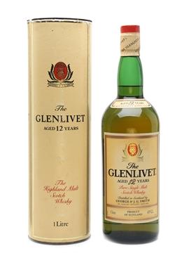 Glenlivet 12 Year Old