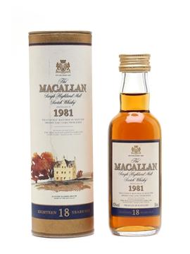 Macallan 1981