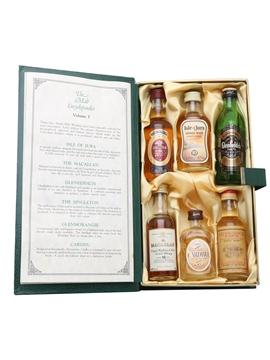 Waverley Vintners Malt Encyclopaedia Auchroisk, Cardhu, Glenfiddich, Glenmorangie, Isle Of Jura, Macallan 6 x 5cl / 40%