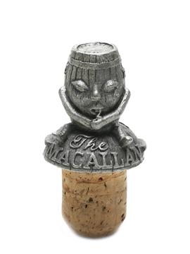 Macallan Pewter Cork Stopper Spanish Oak Sherry Cask