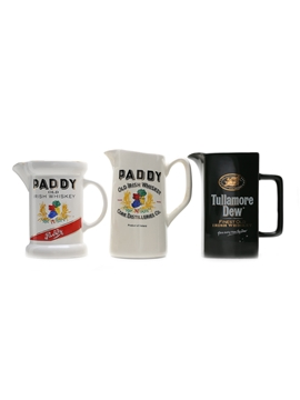 Paddy & Tullamore Dew Water Jugs
