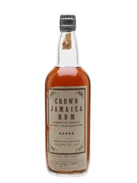 Crown 5 Star 1948 Jamaica Rum