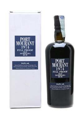 Port Mourant 1974 Old Demerara Rum