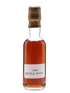 Macallan 1949 Trade Sample 5cl