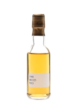 Macallan 1968 Fine & Rare Cask No. 5913 33 Year Old - Trade Sample 5cl / 46.6%