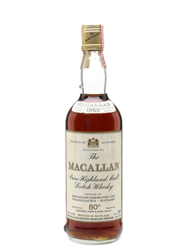 Macallan 1960 Campbell, Hope & King