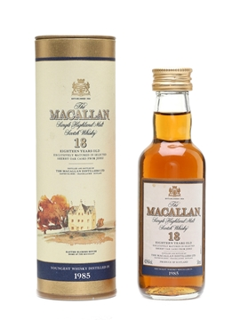 Macallan 1985 And Earlier