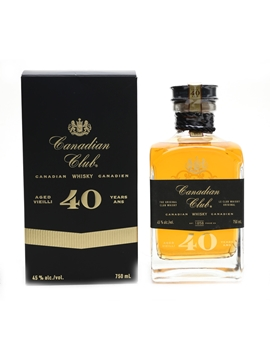Canadian Club 40 Year Old