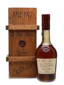 Martell Silver Jubilee Cognac 1952-1977