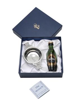 Glenfiddich Miniature & Quaich